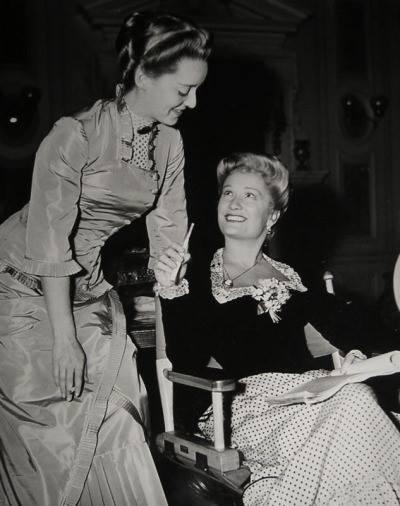Bette Davis & Miriam Hopkins