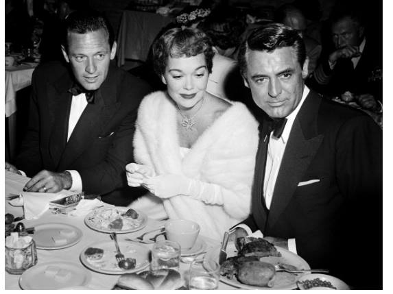 William Holden, Jane Wyman and Cary Grant