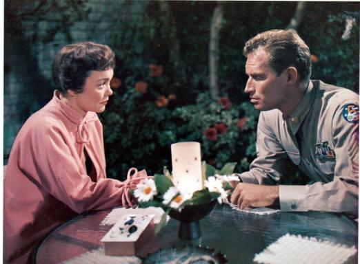 Jane Wyman And Charlton Heston