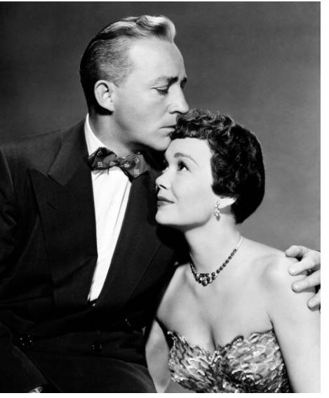 Bing Crosby and Jane Wyman