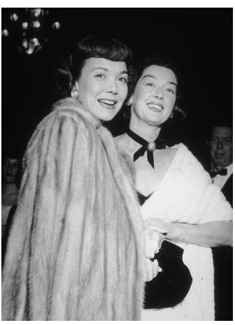 Jane Wyman, Rosalind Russell