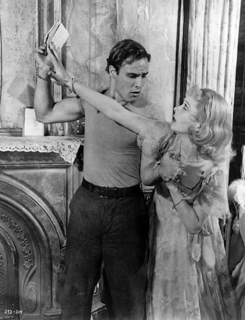 Marlon Brando & Vivien Leigh