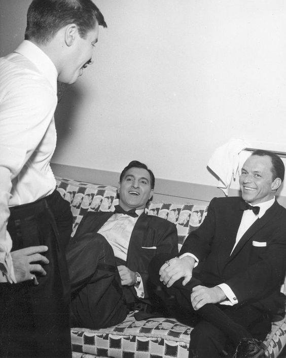 Jerry Lewis, Danny Thomas and Frank Sinatra