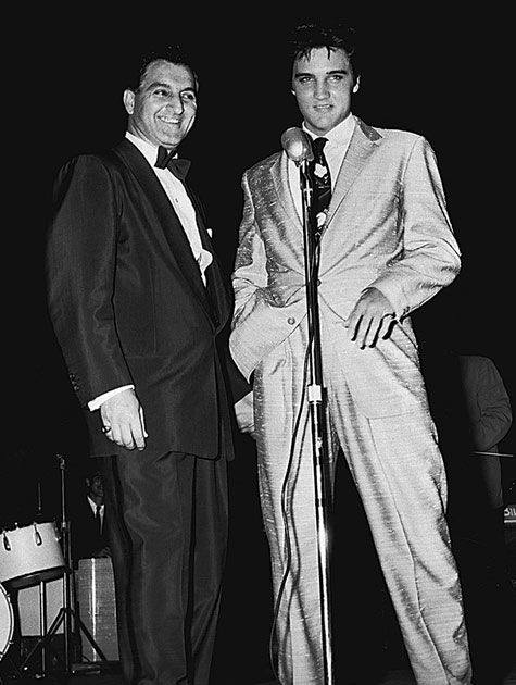 Danny Thomas and Elvis Presley