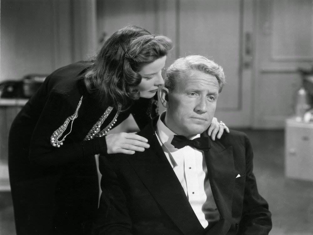 Spencer Tracy e Katharine Hepburn