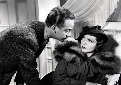 Melvyn Douglas & Claudette Colbert