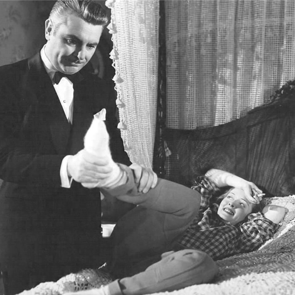 George Brent & Bette Davis