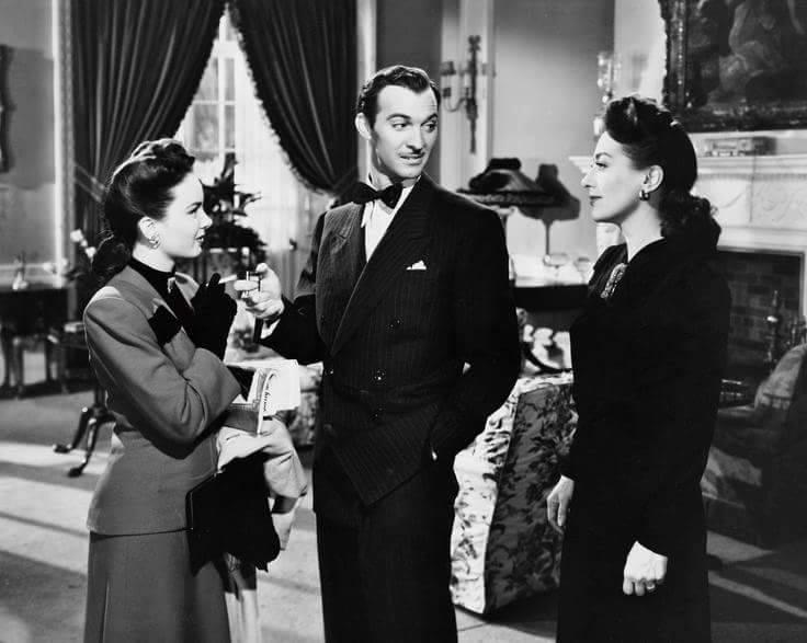 Ann Blyth,Zachary Scott & Joan Crawford