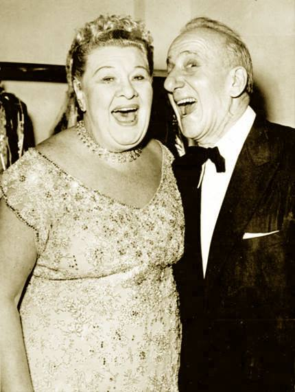 Sophie Tucker and Jimmy Durante