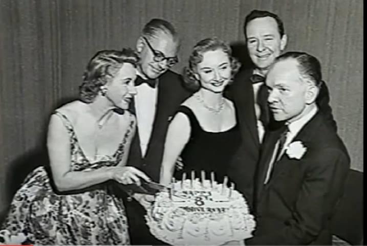 Arlene Francis, Bennett Cerf, Dorothy Kilgallen, John Daly and Mark Goodson