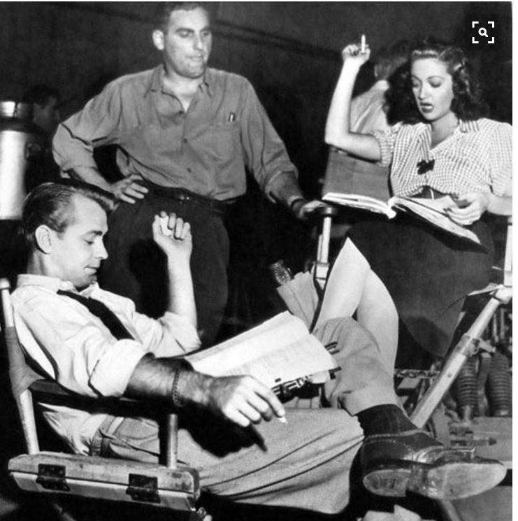 Alan Ladd, William Bendix & Dorothy Lamour