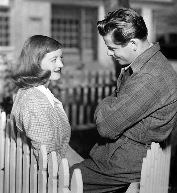 Glenn Ford and Bette Davis