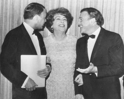 Frank Sinatra, Ethel Merman and Gene Kelly