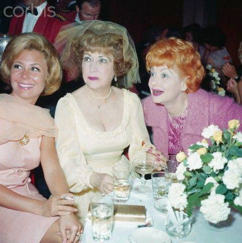 Mitzi Gaynor, Ethel Merman and Lucille Ball