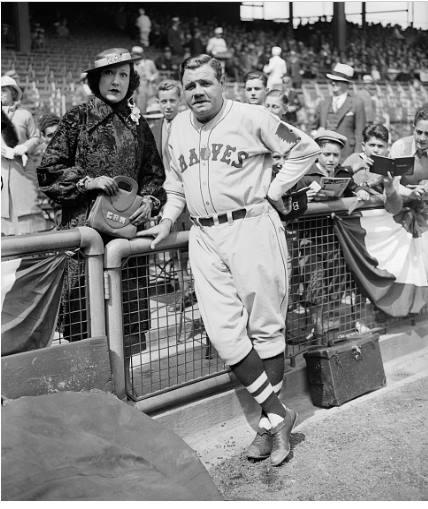 Ethel Merman and Babe Ruth