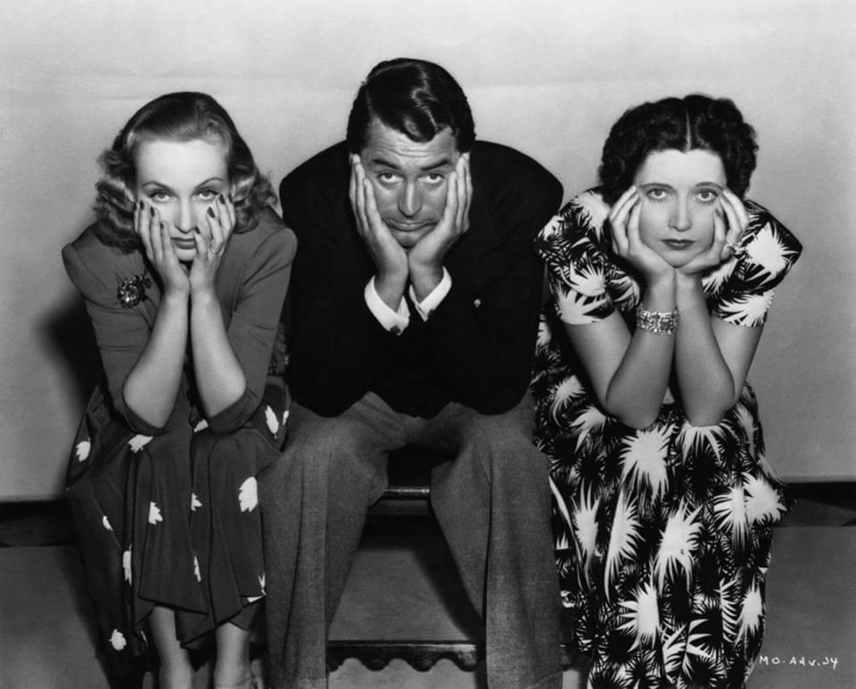 Carole Lombard,Cary Grant & Kay Francis