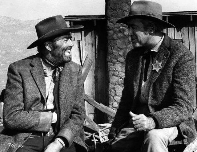 Henry Fonda & James Stewart