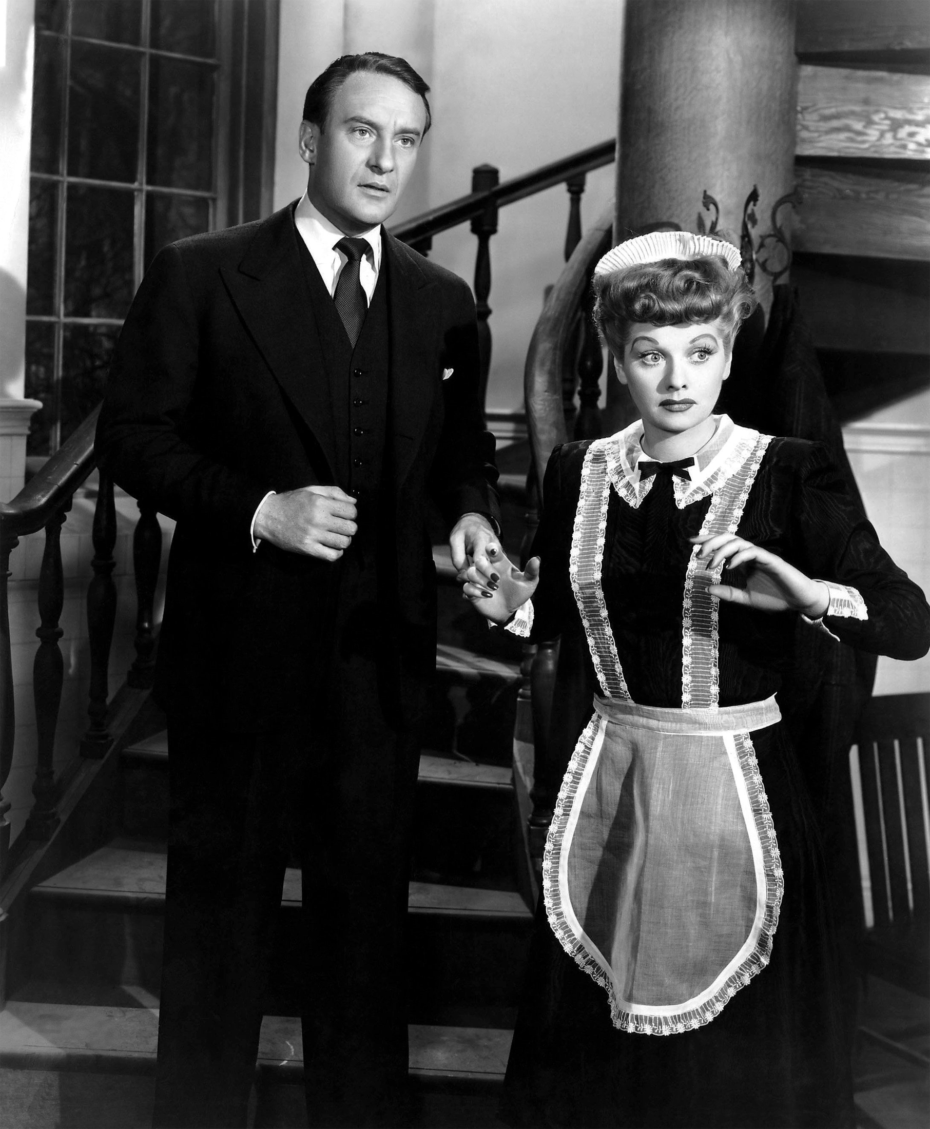 George Sanders With Lucille Ball.
