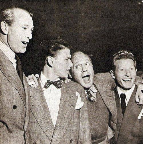 Gary Cooper, Frank Sinatra, Jack Benny, Danny Kaye