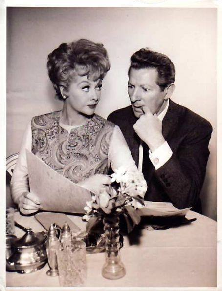 Lucille Ball and Danny Kaye