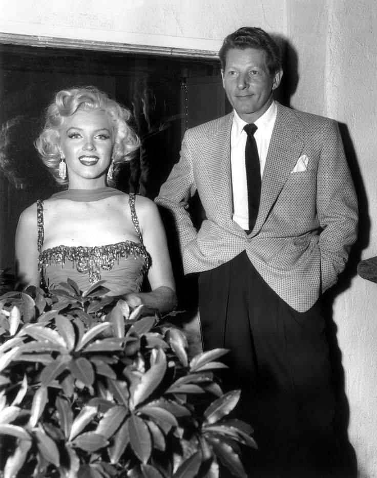 Marilyn Monroe and Danny Kaye