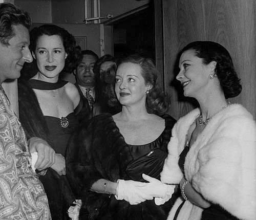 Danny Kaye, Kitty Carlisle, Bette Davis and Vivien Leigh