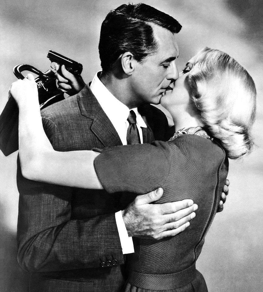Cary Grant ed Eva Marie Saint