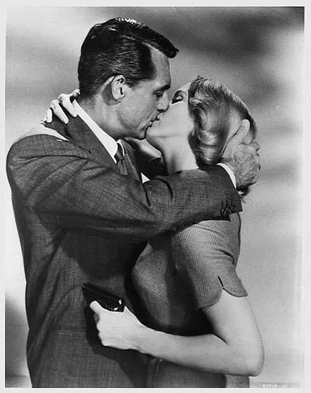 Cary Grant & Eva Marie Saint