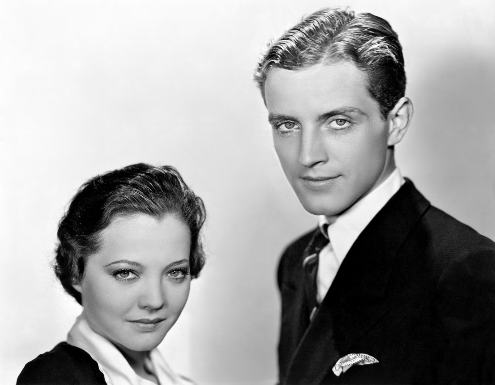 Sylvia Sidney With Phillips Holmes.