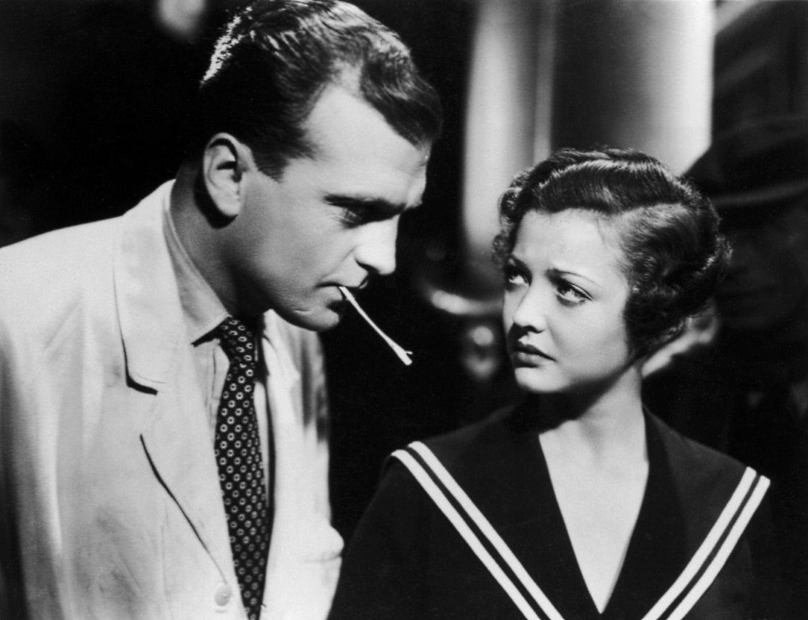 Sylvia Sidney With John Loder.