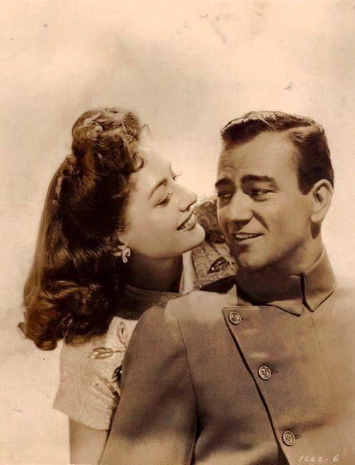 Joan Crawford & John Wayne