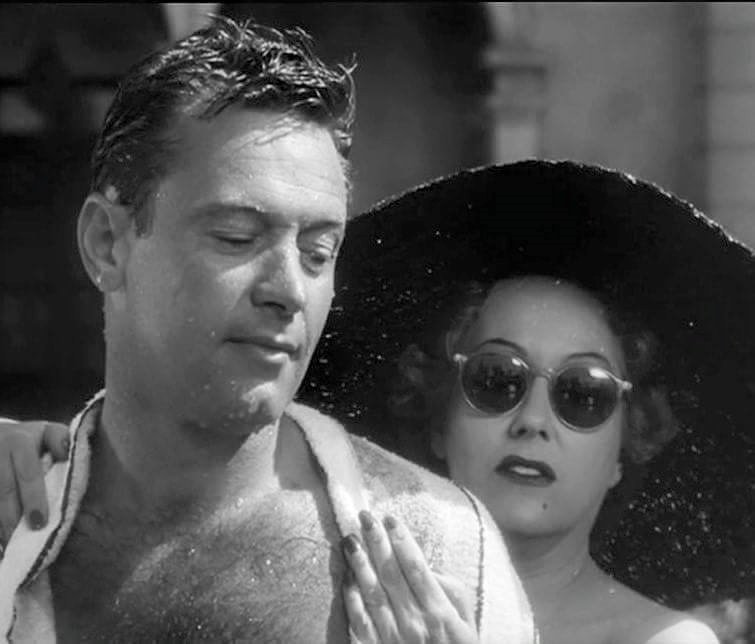 William Holden & Gloria Swanson