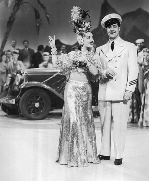 Carmen Miranda & Don Amache