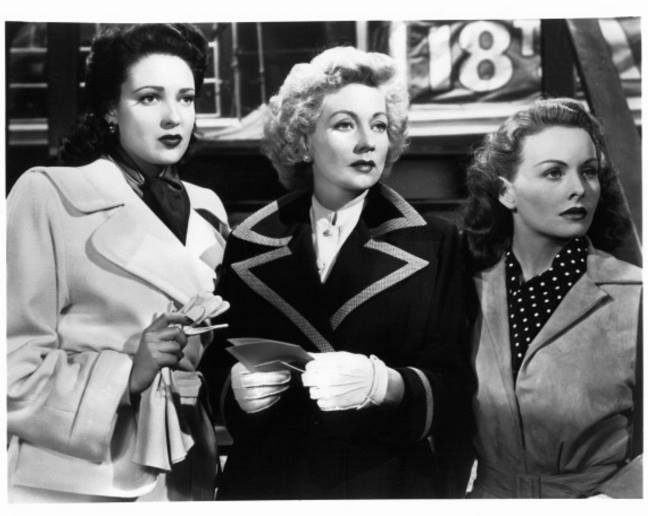 Linda Darnell, Ann Sothern and Jeanne Crain In 'A Letter To Three Wives'