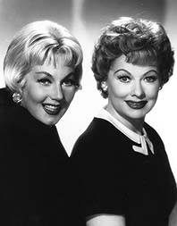 Ann Sothern and Lucille Ball