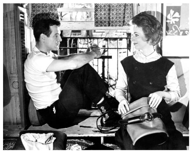 Paul Newman and Piper Laurie in 'The Hustler', 1961