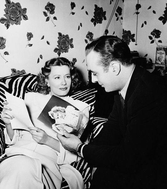 Irene Dunne & Charles Boyer