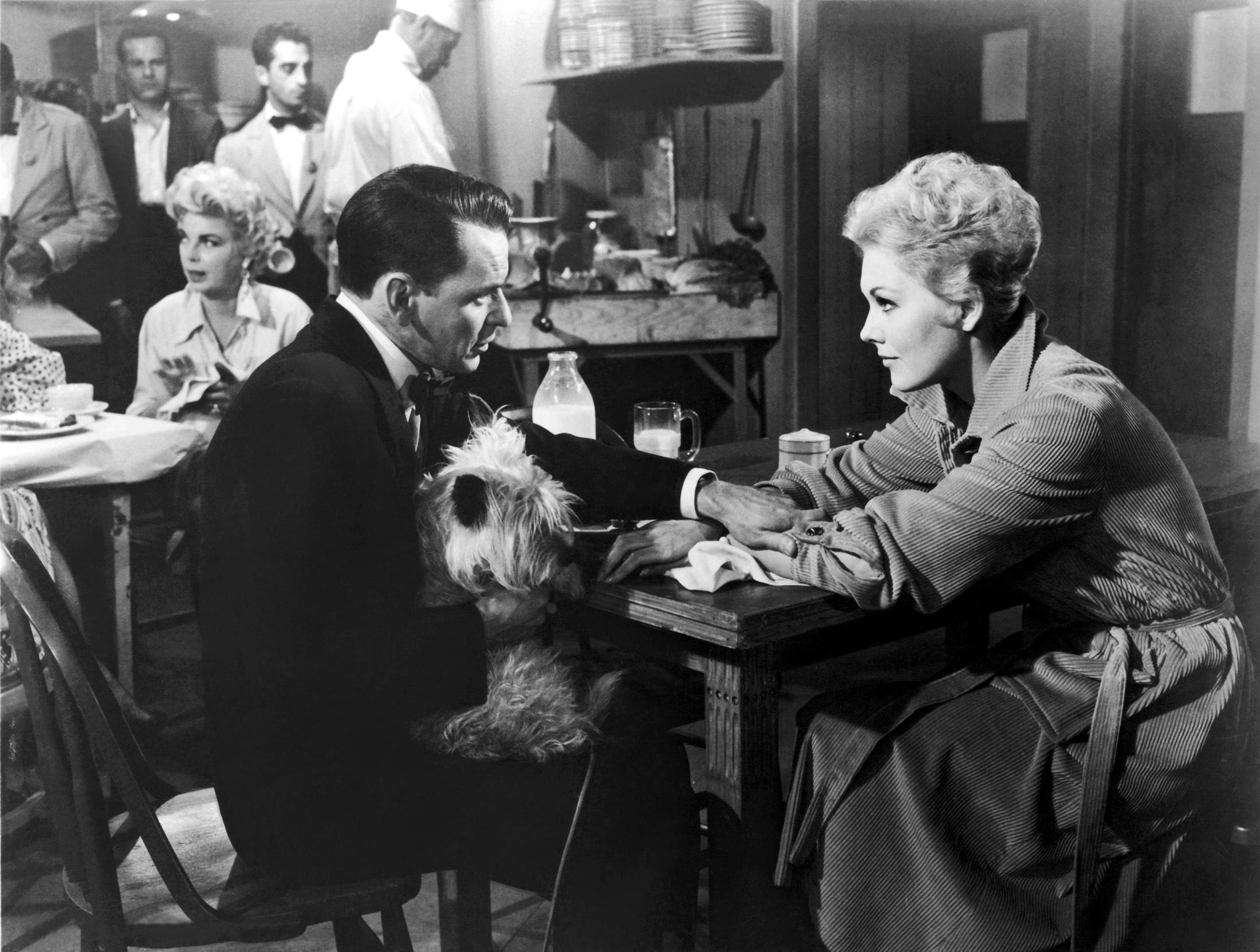 Frank Sinatra With Kim Novak and Barbara Nichols in background