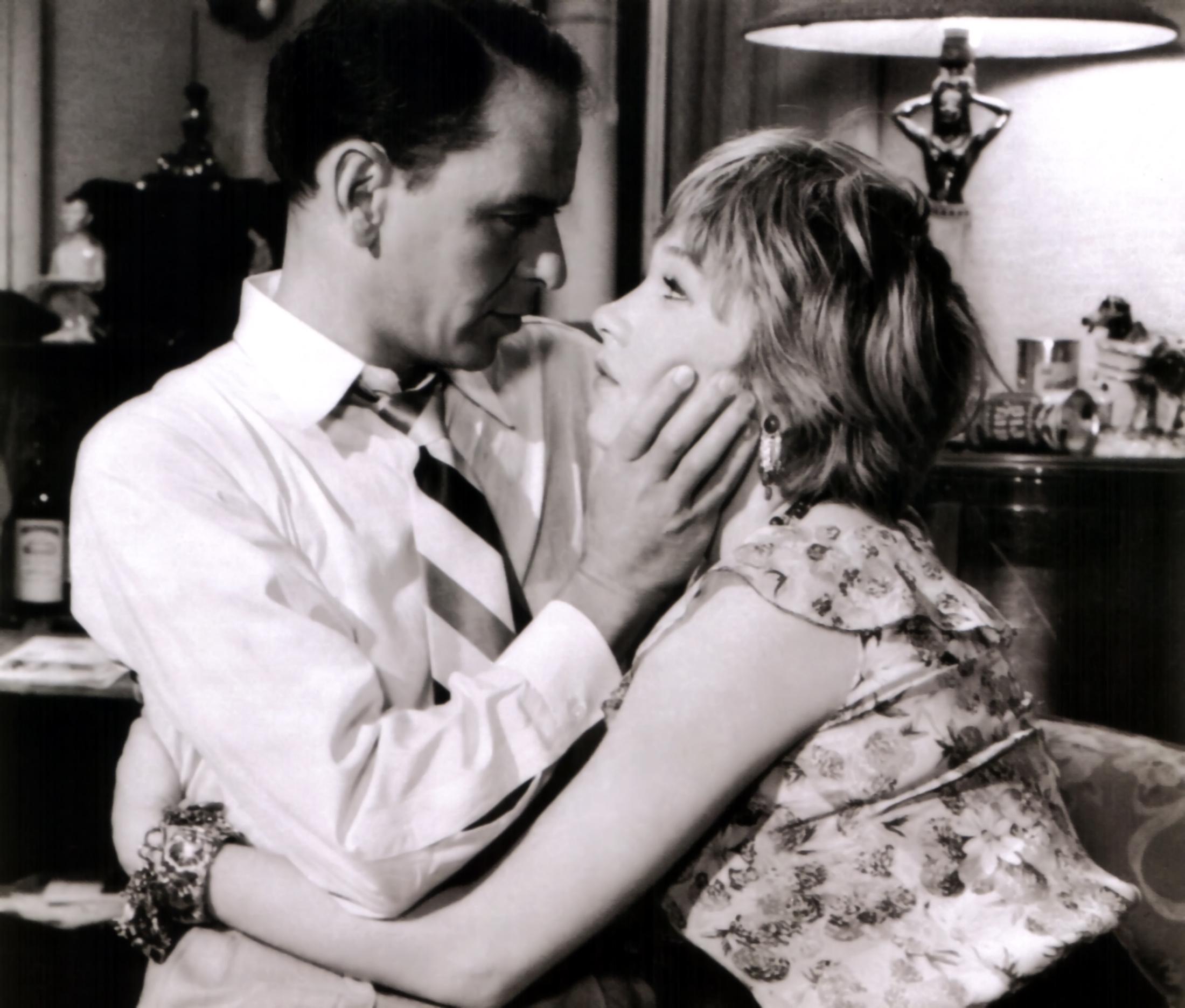 Frank Sinatra With Shirley MacLaine.