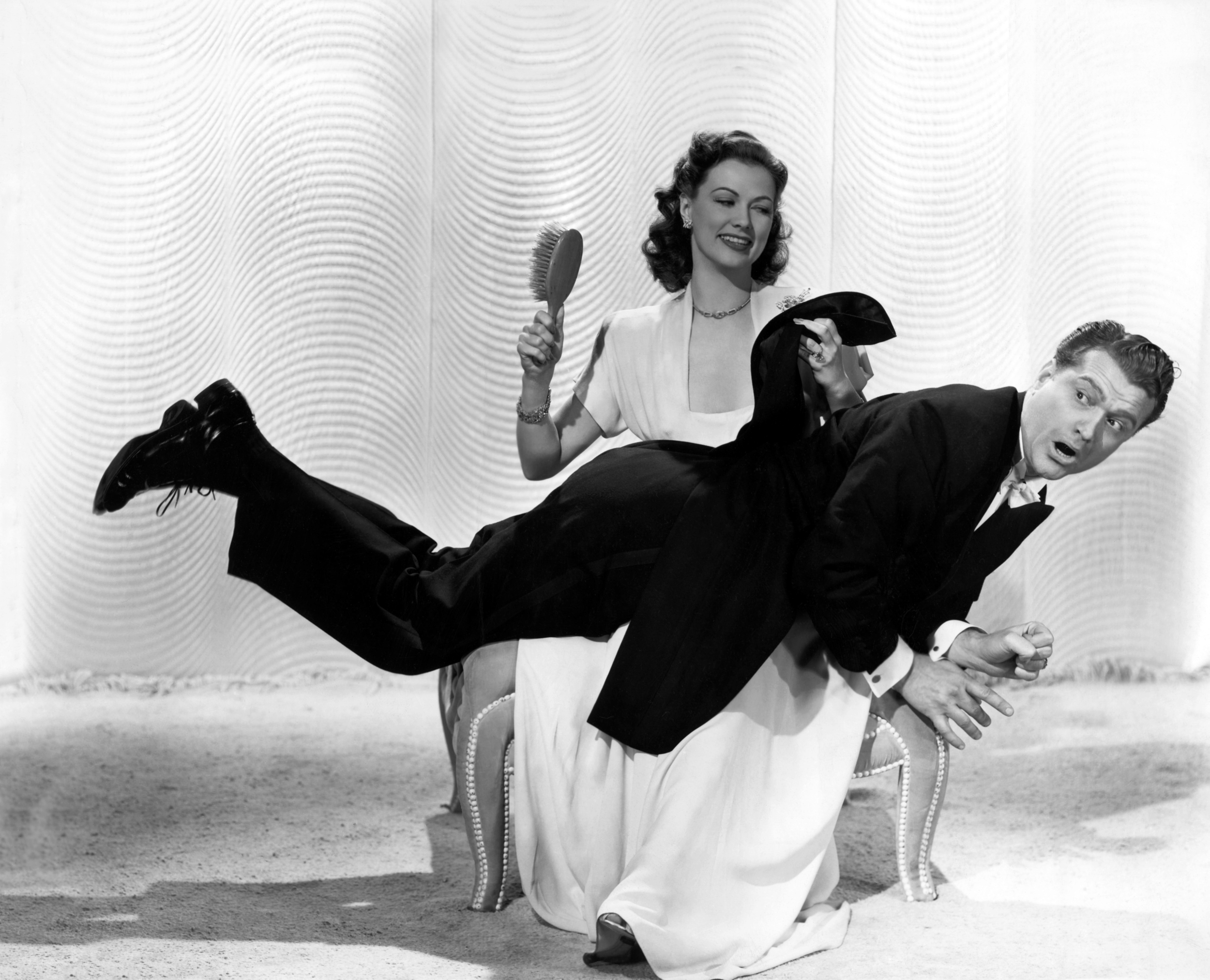 Red Skelton With Eleanor Powell.