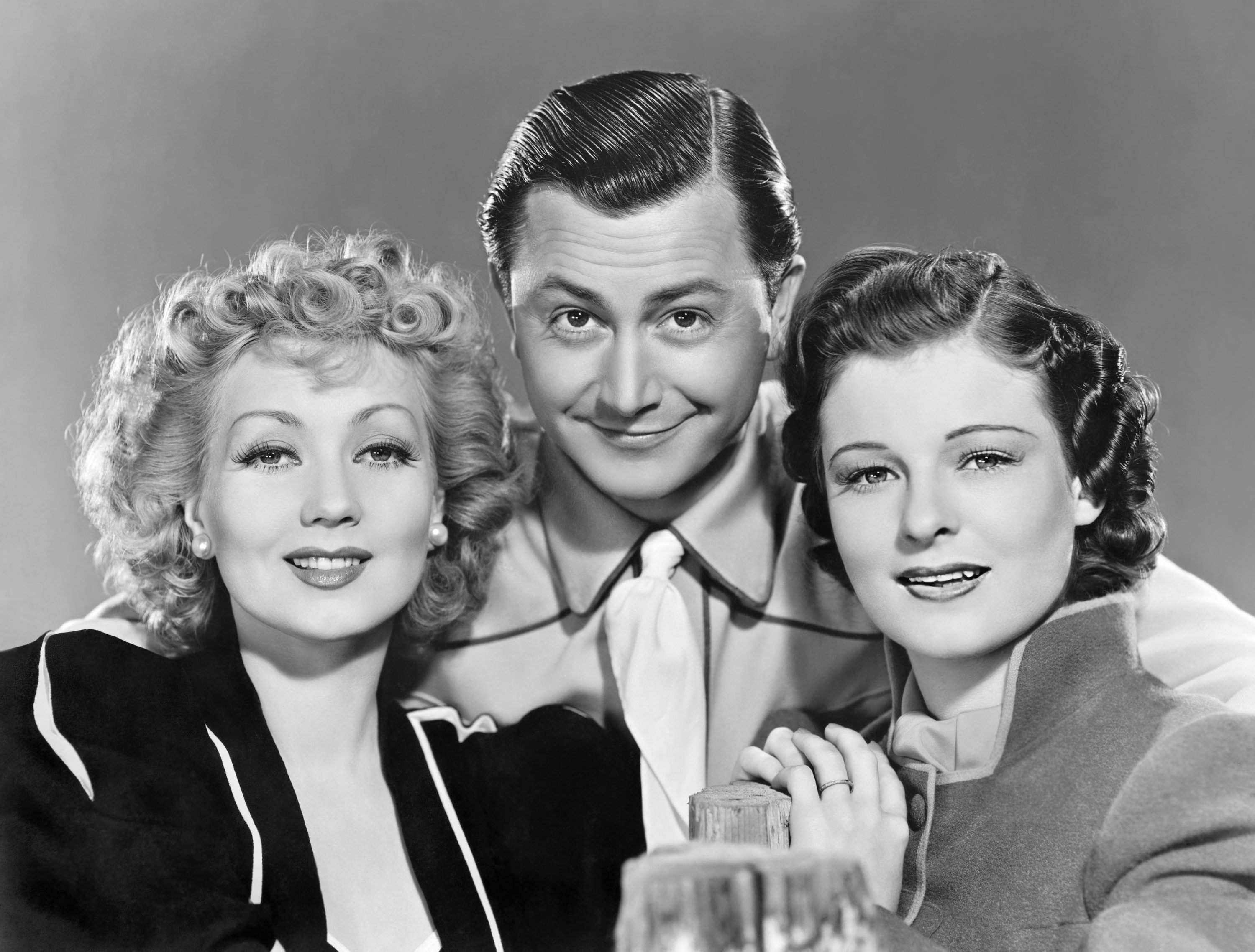 (L to R) Ann Sothern, Robert Young, Ruth Hussey. .