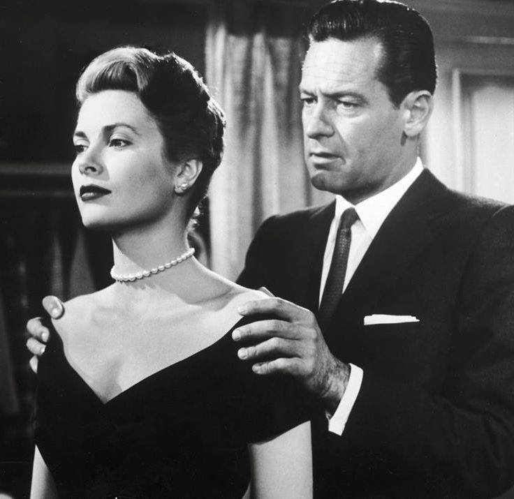 Grace Kelly & William Holden.