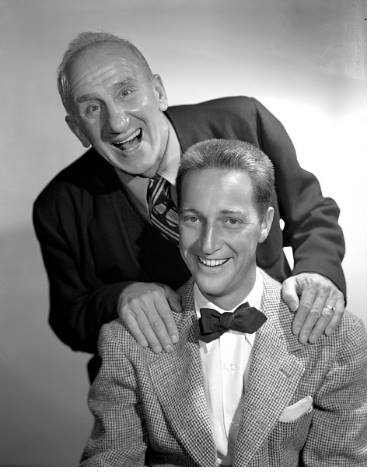 Garry Moore and Jimmy Durante