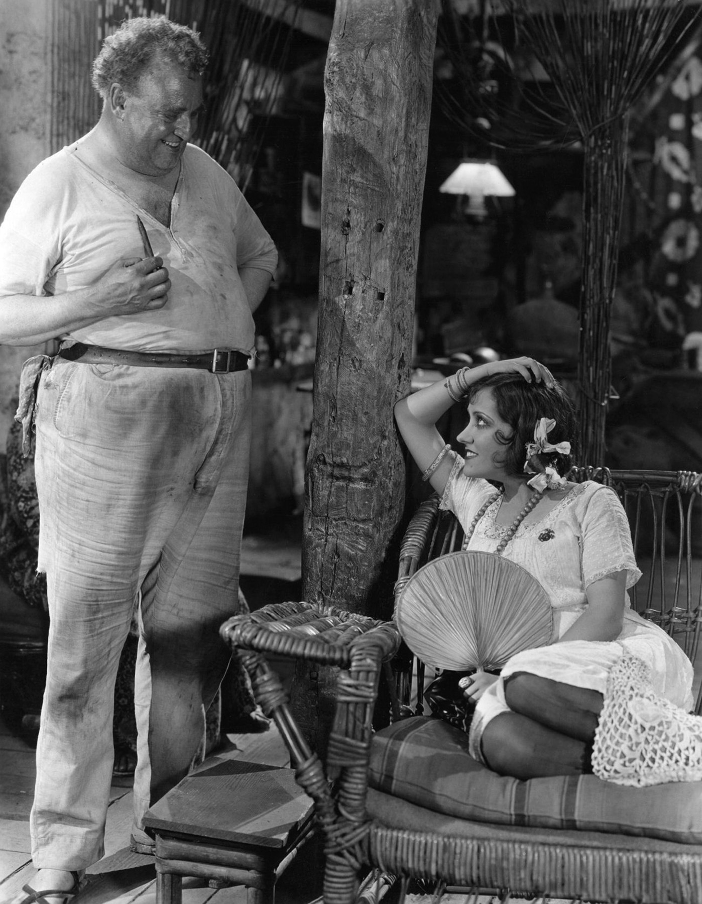 Gloria Swanson With James A. Marcus