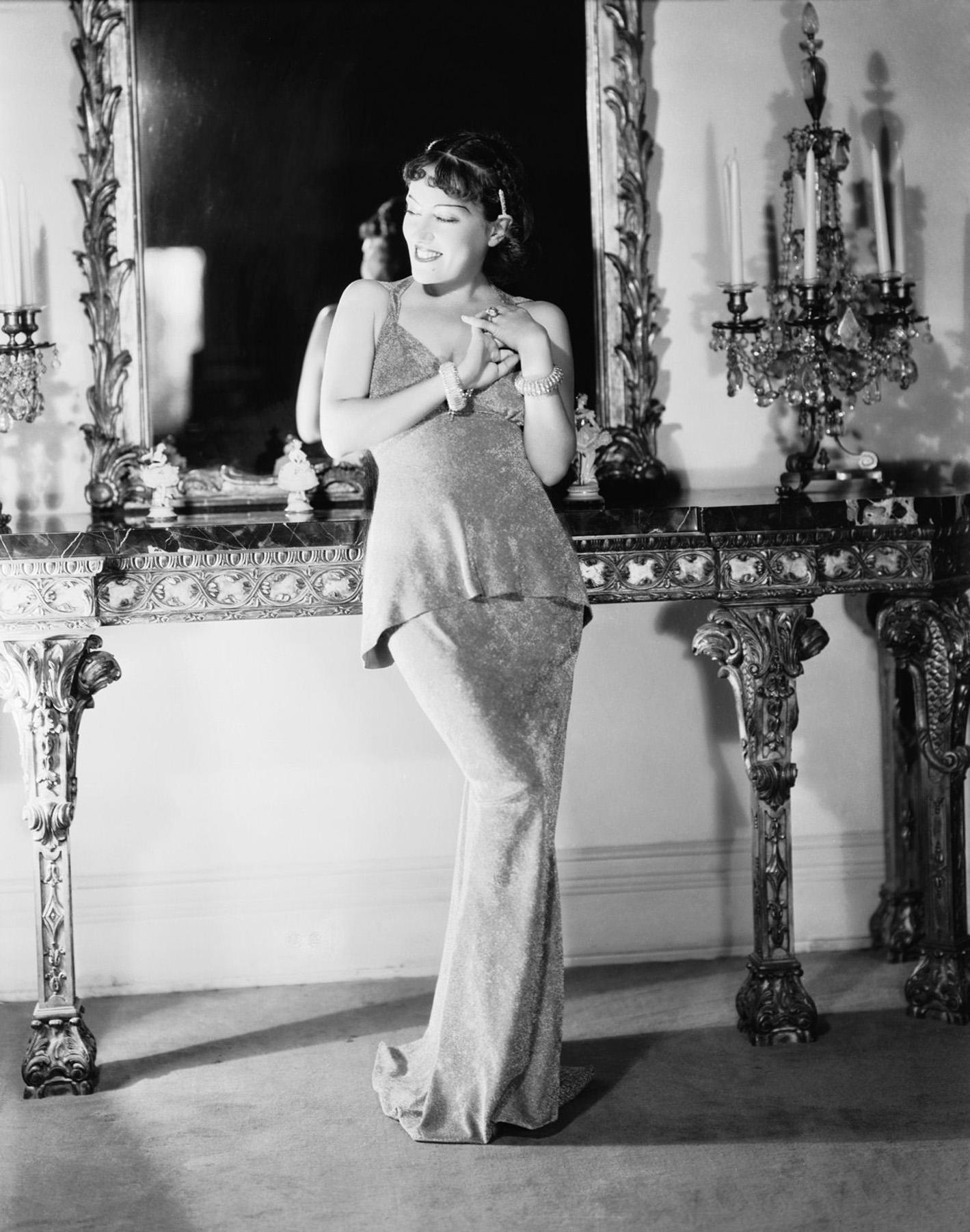 Gloria Swanson.