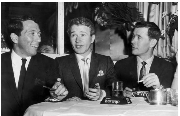 Andy Williams, Red Buttons, Johnny Carson