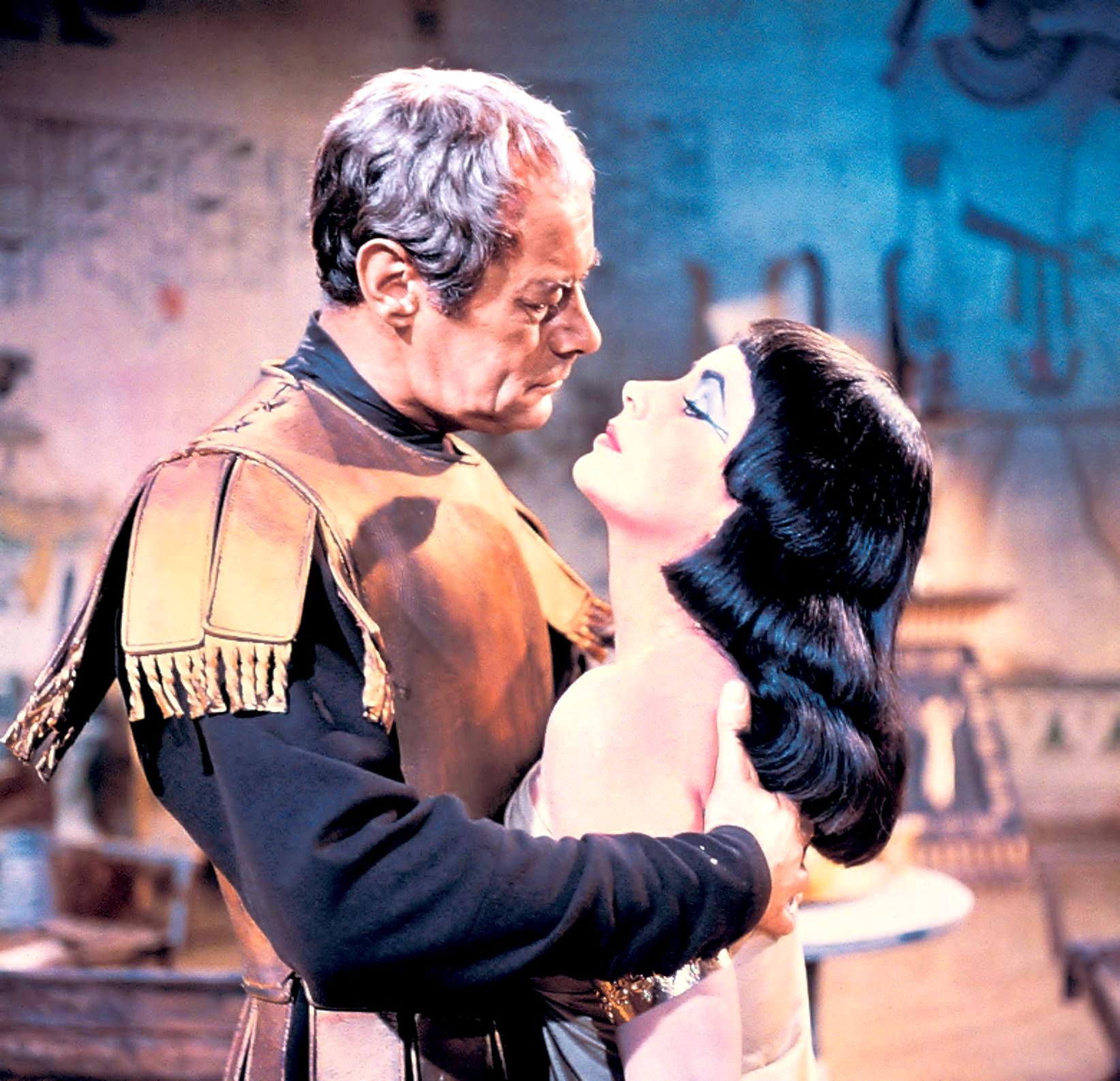 Elizabeth Taylor With Rex Harrison.