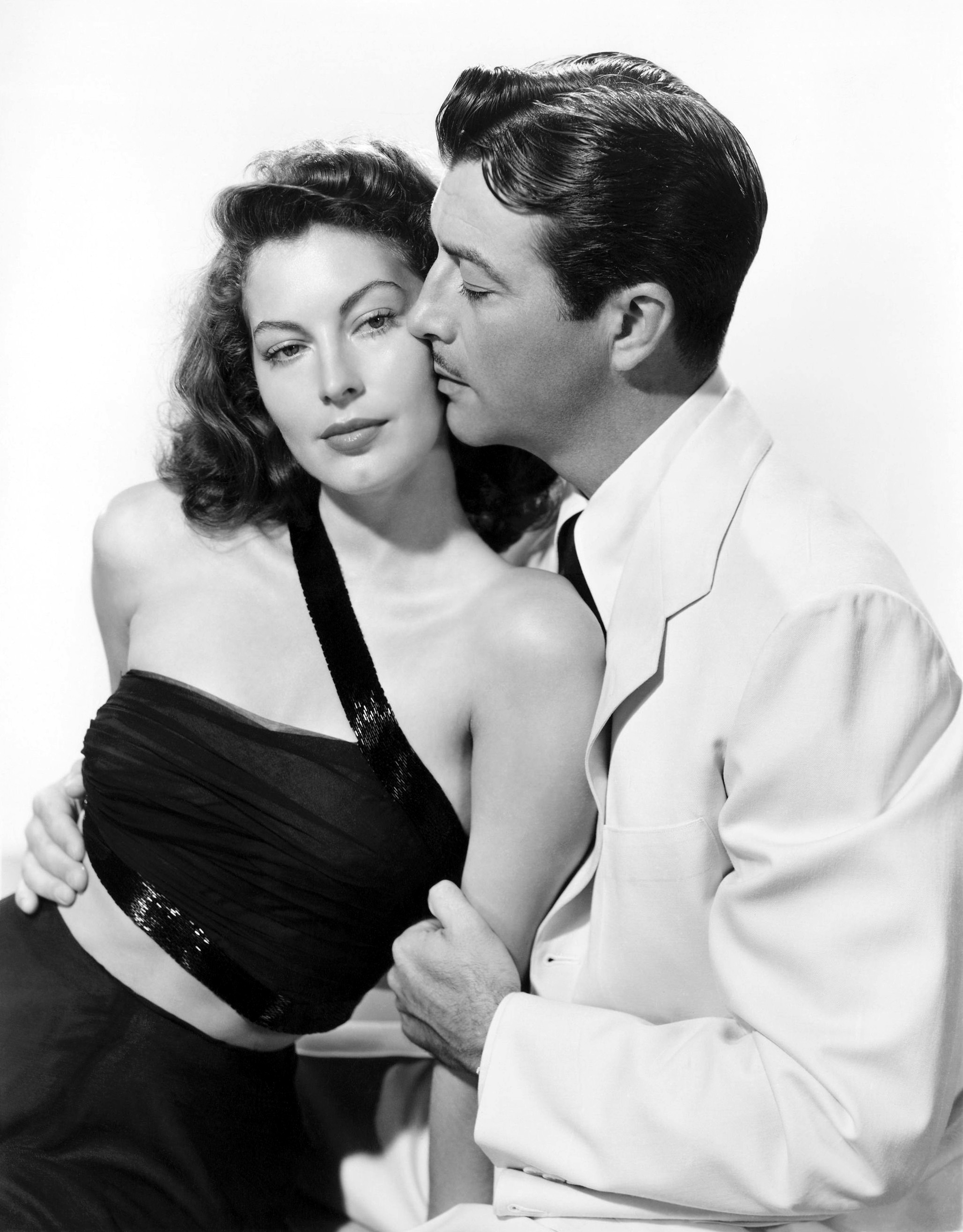 Robert Taylor With Ava Gardner.