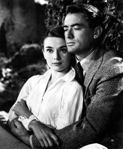 Gregory Peck e Audrey Hepburn