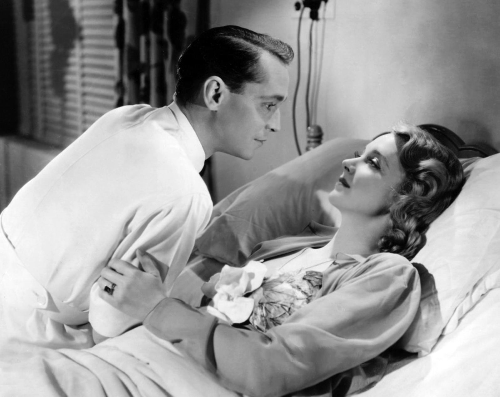 Franchot Tone With Virginia Bruce.